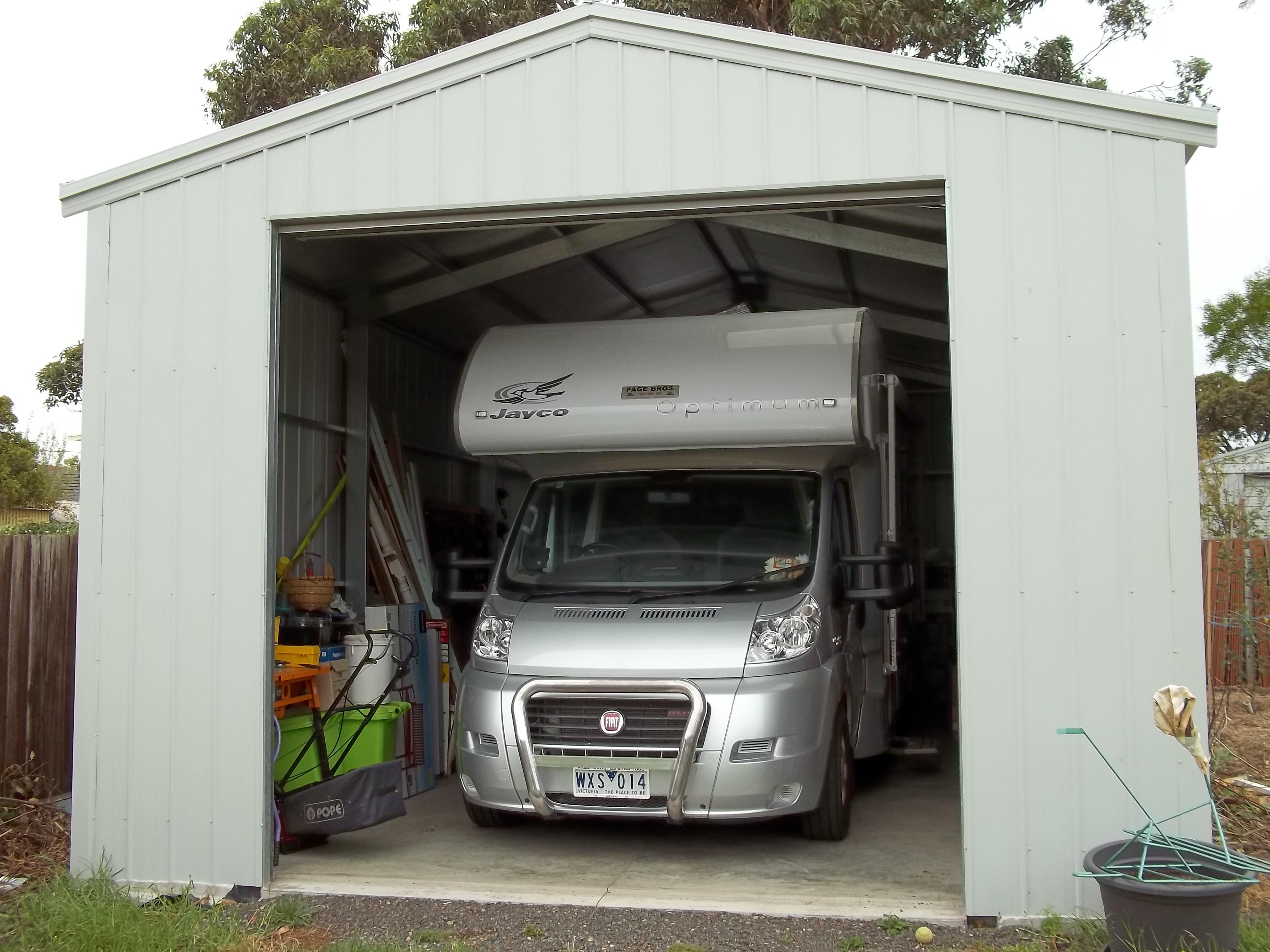 Steel garages bayside garage centre for Bayside garage doors