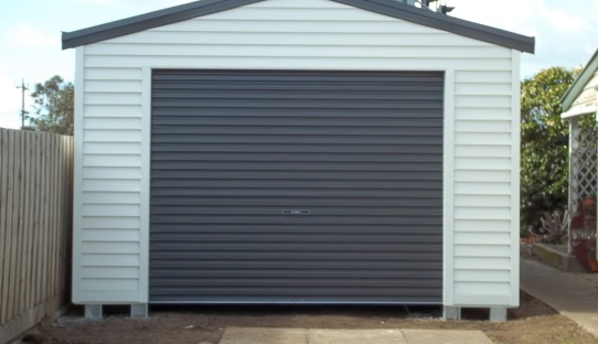 Garage Door Weatherboards Amp Resene Half Masala For The
